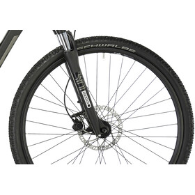 HAIBIKE SDURO Cross 1.0 Dames, black/titan/grey matte